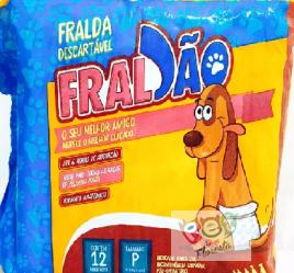 FRALDA DESCARTAVEL FRALCÃO - P