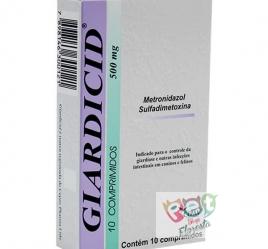 GIARDICID 500 MG - 10 COMPRIMIDOS