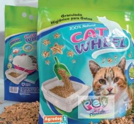 GRANULADO HIGIÊNICO - CAT WHEEL - 2KG