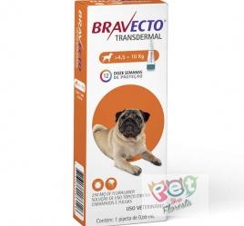 BRAVECTO TRANSDERMAL CAES 4,5 A 10 KG