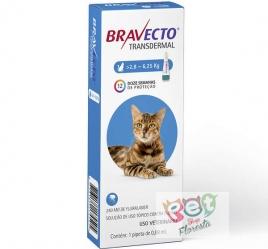 BRAVECTO TRANSDERMAL GATO 2,8 A 6,25 KG