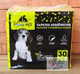 Tapete higiênico  - Prime Pet com 30 unidades - 60cm X 60cm