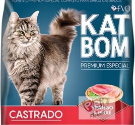 KATBOM PREMIUM ESPECIAL - CASTRADOS – FRANGO E PEIXE - 10KG