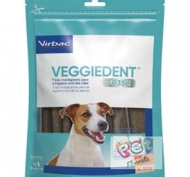 Tiras Mastigáveis VEGGIEDENT FRESH para Cães - VIRBAC