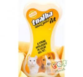TOALHA MAGICA - 80x30cm - Cães E Gatos