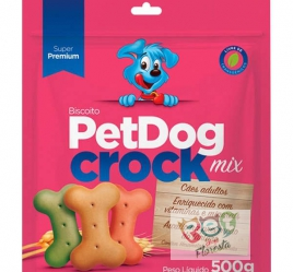 Biscoito Pet Dog Crock mix - 1KG