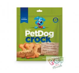 Biscoito Pet Dog Crock Integral 500g