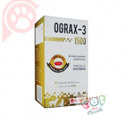 OGRAX - 3 1500 - 30 CÁPSULAS