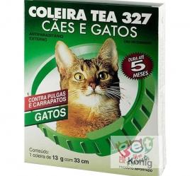 COLEIRA TEA GATOS