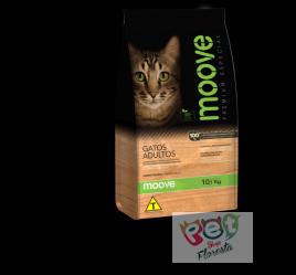 Moove Gatos Adultos `Premium Especial Sabor Frango 10,1 kg