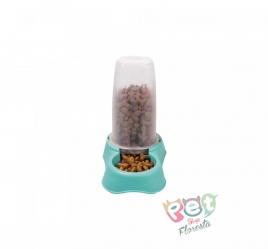 Comedouro ou Bebedouro Flex Gourmet - Plast Pet - 1,5 litros