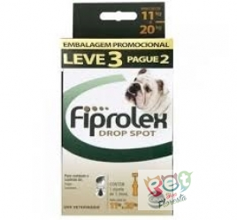 FIPROLEX  CÃES 11 - 20 Kg