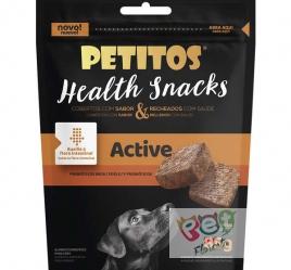 Petitos Health Snacks Active Sabor Carne para Cães