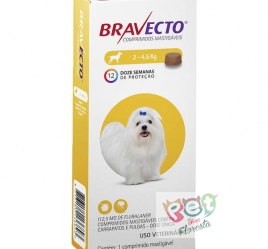 BRAVECTO CÃES 2 - 4,5 Kg