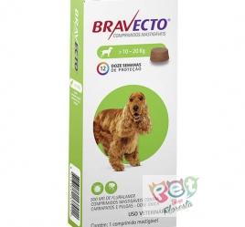 BRAVECTO CÃES 10 - 20 Kg