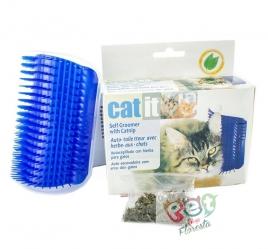Auto Escova para Gatos com Catnip - CAT BRUSH
