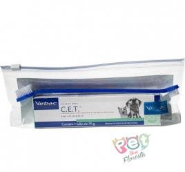 Pasta Dental Virbac Enzimática CET para Cães e Gatos