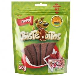 Snack para cães Bistequitos sabor Carne - 50g