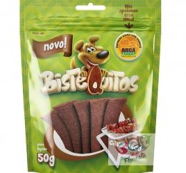 Snack para cães Bistequitos sabor Churrasco - 50g
