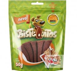 Snack para cães Bistequitos sabor Galinha - 50g