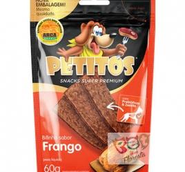Snack Petitos bifinho sabor Frango - 60g