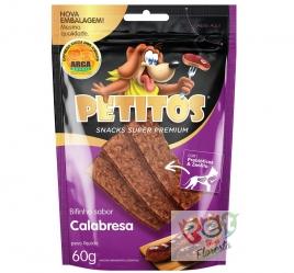 Snack Petitos bifinho sabor Calabresa - 60g