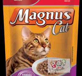 SACHÊ MAGNUS CAT- GATOS ADULTOS - CARNE AO MOLHO