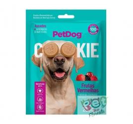 Biscoito Pet Dog Cookie Frutas Vermelhas para Cães - 250g