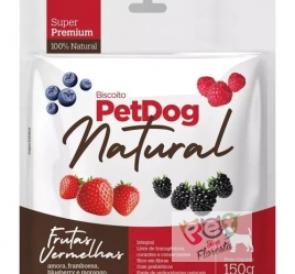 Biscoito Pet Dog Natural Frutas