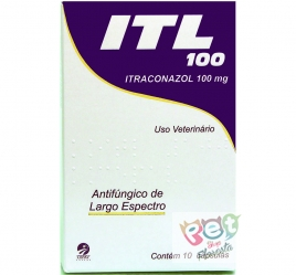 ITL 100 MG 10 CPS