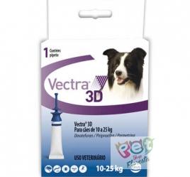 Antipulgas e Carrapatos Ceva Vectra 3D - para Cães de 10 a 25 Kg