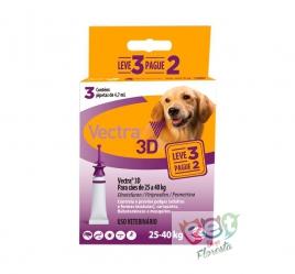 Antipulgas e Carrapatos Ceva Vectra 3D - para Cães de 25 a 40 Kg