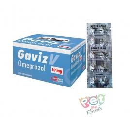 GAVIZ V OMEPRAZOL 10 MG - 10 COMPRIMIDOS