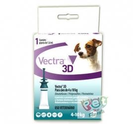 VECTRA 3D CÃES DE 4 A 10 kg