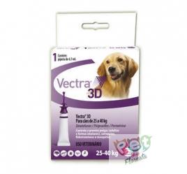 VECTRA 3D CÃES DE 25 A 40 kg