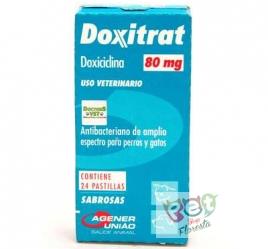 DOXITRAT DOXICICLINA 80 mg