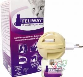 FELIWAY DIFUSOR ELÉTRICO + 1 REFIL COM 48ml