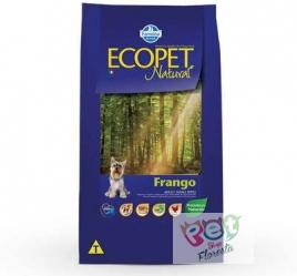 ECOPET NATURAL FRANGO - ADULTO RAÇAS PEQUENAS 1 Kg