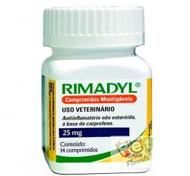 RIMADYL 25 mg - 14 COMPRIMIDOS