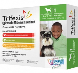 TRIFEXIS CÃES 9 a 18kg