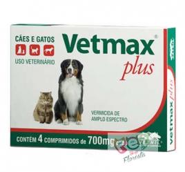 VETMAX PLUS 04 COMPRIMIDOS