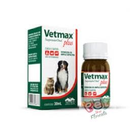 VETMAX PLUS SUSPENSÃO 30 ml