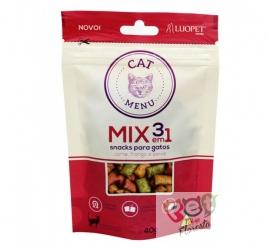 PETISCO LUOPET CAT MENU MIX 3 EM 1 - 40g