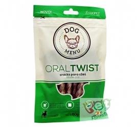 PETISCO LUOPET  DOG MENU - ORAL TWIST - 60g