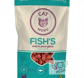 PETISCO LUOPET CAT MENU FISHS  40g
